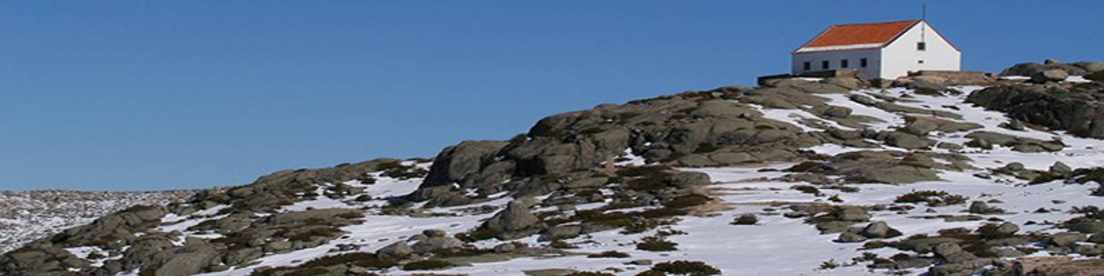 Snow in the Serra da Estrela
